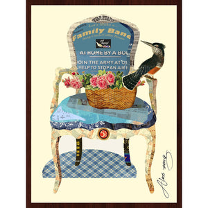 Arm Chair ~ Art Collage - Cece & Me - Home and Gifts