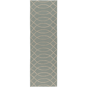 Arnson Rug ~ Teal & Beige - Cece & Me - Home and Gifts
