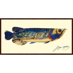 Arowana ~ Art Collage - Cece & Me - Home and Gifts