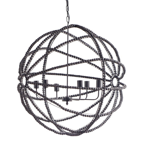 Ava Chandelier ~ Black - Cece & Me - Home and Gifts