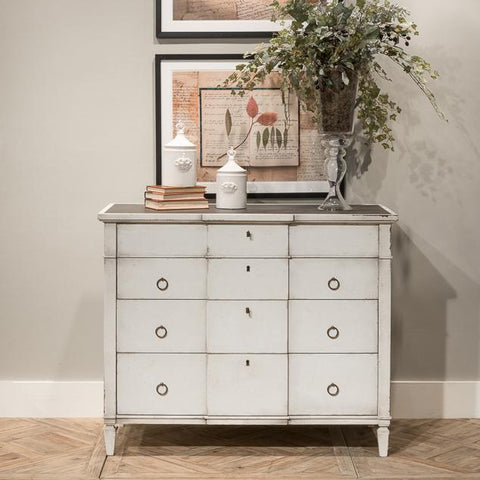 Azzalene Single Dresser Wht/Wht Gray - Cece & Me - Home and Gifts
