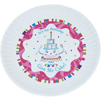 Fun Birthday Melamine Plates - Give Me Cake - Cece & Me - Home and Gifts - 1