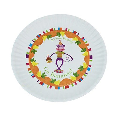 Fun Birthday Melamine Plates ~ Go Bananas - Cece & Me - Home and Gifts
