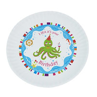 Fun Birthday Melamine Plates - I SEA it's your Birthday - Cece & Me - Home and Gifts - 1