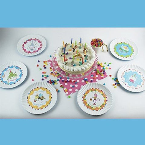 Image of Fun Birthday Melamine Plates ~ Happy Birth-Daisey - Cece & Me - Home and Gifts