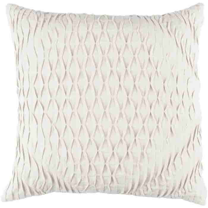 Baker Pillow ~ Light Grey - Cece & Me - Home and Gifts