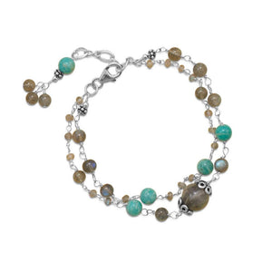 Baila Luna Multistone Bracelet - Cece & Me - Home and Gifts