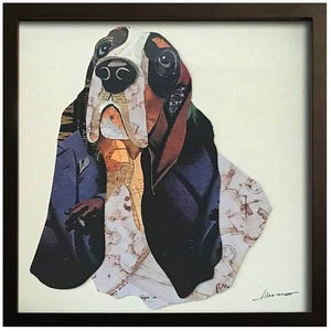 Basset Hound ~ Art Collage - Cece & Me - Home and Gifts