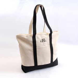 Beach Tote 'Em Bag ~ Black - Cece & Me - Home and Gifts