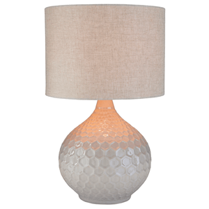 Blakely Table Lamp ~ Ivory - Cece & Me - Home and Gifts