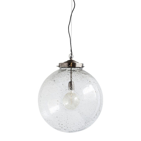 "Bleeker I Pendant Light - 18"" ~ Nickel - Cece & Me - Home and Gifts"