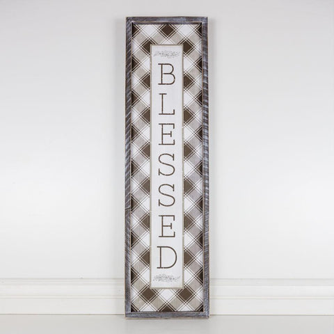 Blessed Reversible Wood-framed Sign - Cece & Me - Home and Gifts