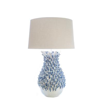 Image of Blue Barnacle Ceramic Lamp - Cece & Me - Home and Gifts