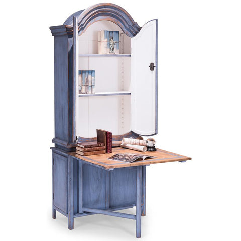 Blue Dress Writing Cabinet - Cece & Me - Home and Gifts