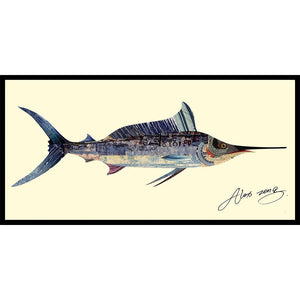 Blue Marlin ~ Art Collage - Cece & Me - Home and Gifts