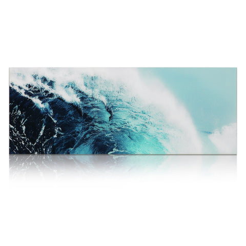 Blue Wave I ~ Tempered Art Glass - Cece & Me - Home and Gifts