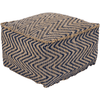 Bodega Pouf ~ Navy - Cece & Me - Home and Gifts