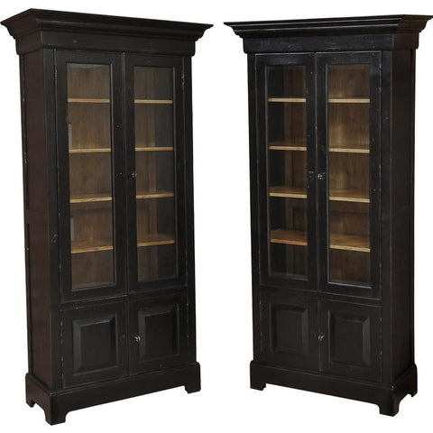 Bookcase In Ebony Finish - Cece & Me - Home and Gifts