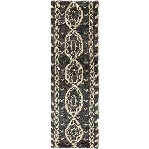 Image of Born Rug ~ Black/Khaki/Dark Brown - Cece & Me - Home and Gifts