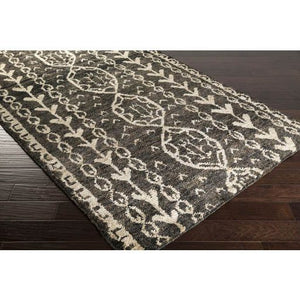 Born Rug ~ Black/Khaki/Dark Brown - Cece & Me - Home and Gifts