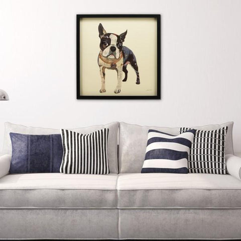 Boston Terrier II ~ Art Collage - Cece & Me - Home and Gifts