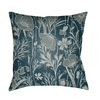 Botanic Pillow ~ Dark Green/Silver Gray/Teal - Cece & Me - Home and Gifts