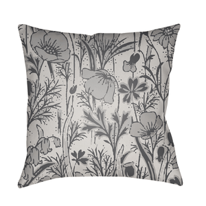 Botanic Pillow ~ Medium Gray - Cece & Me - Home and Gifts