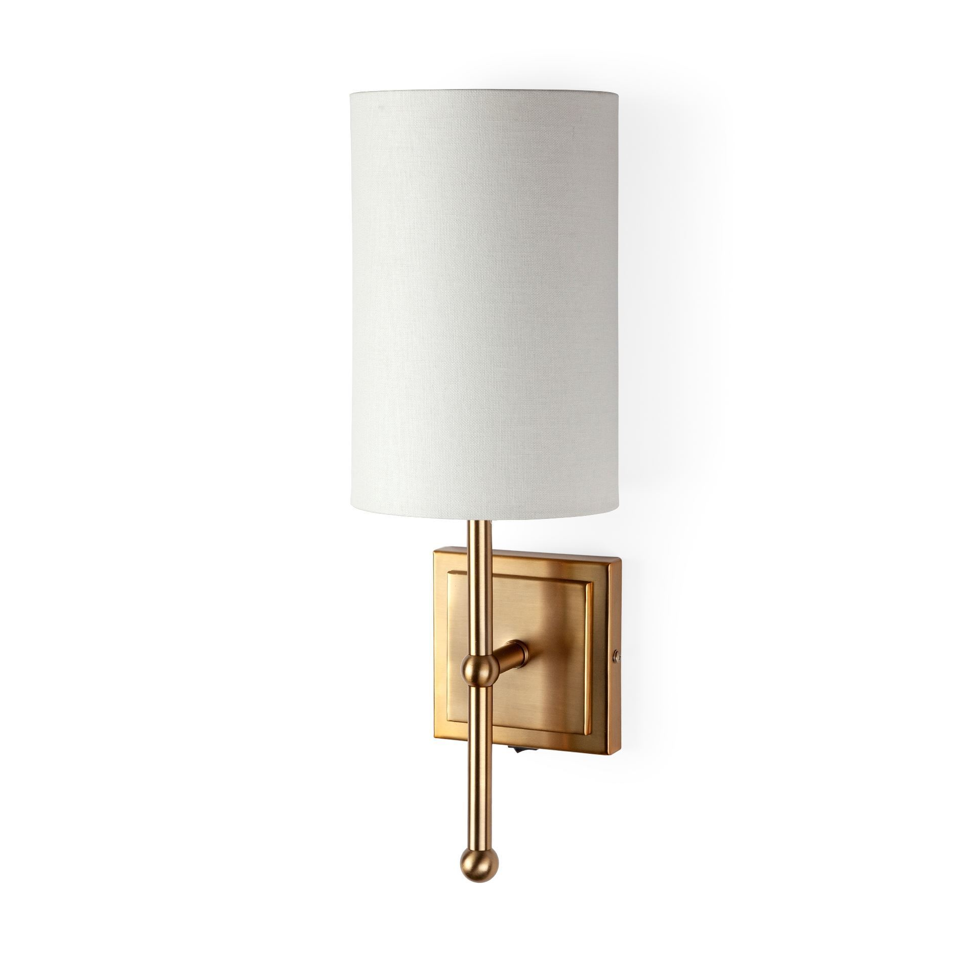 Bourgeois Wall Sconce ~ Gold - Cece & Me - Home and Gifts
