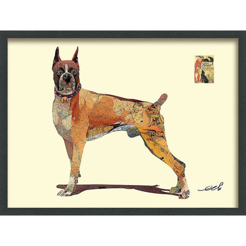 Boxer ~ Art Collage - Cece & Me - Home and Gifts