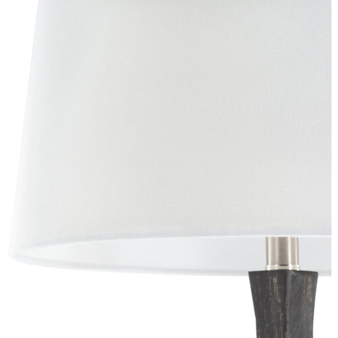 Braelynn Table Lamp ~ Charcoal