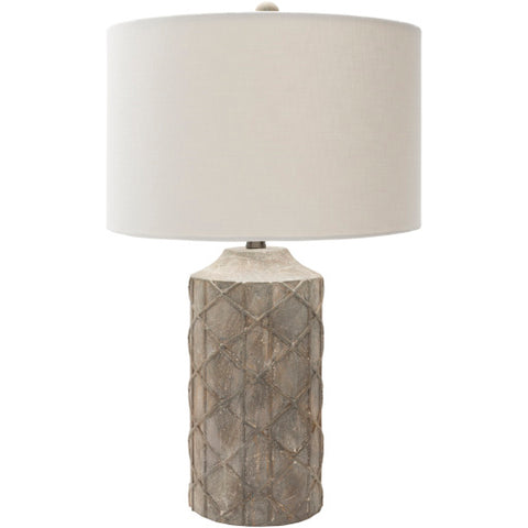 Image of Brenda Table Lamp ~ Medium Gray