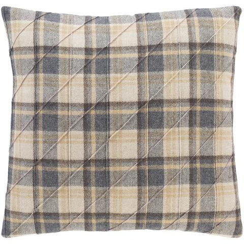 Brenley Plaid Pillow - Cece & Me - Home and Gifts