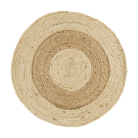 Image of Brie Jute Rug ~ Wheat - Cece & Me - Home and Gifts