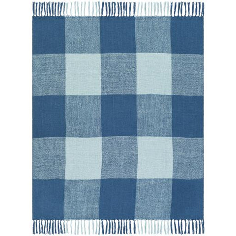 Bufflonne Throw ~ Blue - Cece & Me - Home and Gifts