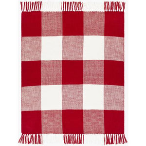 Bufflonne Throw ~ Dark Red - Cece & Me - Home and Gifts