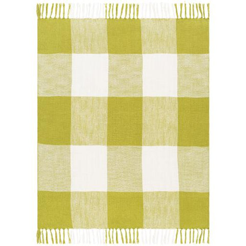 Bufflonne Throw ~ Olive - Cece & Me - Home and Gifts