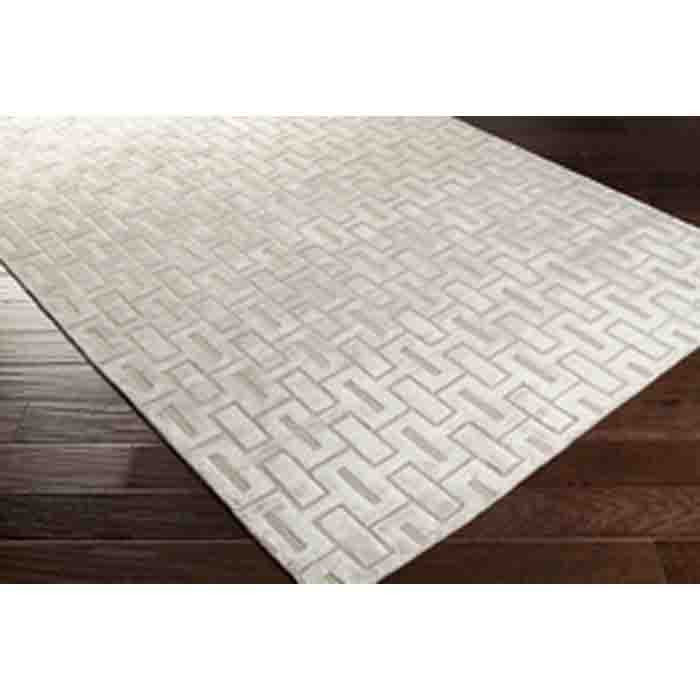 Castlebury Rug ~ Light Gray - Cece & Me - Home and Gifts