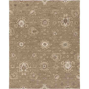 Castello Rug ~ Taupe/Beige/Ivory/Dark Brown - Cece & Me - Home and Gifts