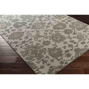 Castello Rugs ~ Medium Gray/Dark Green/Charcoal - Cece & Me - Home and Gifts