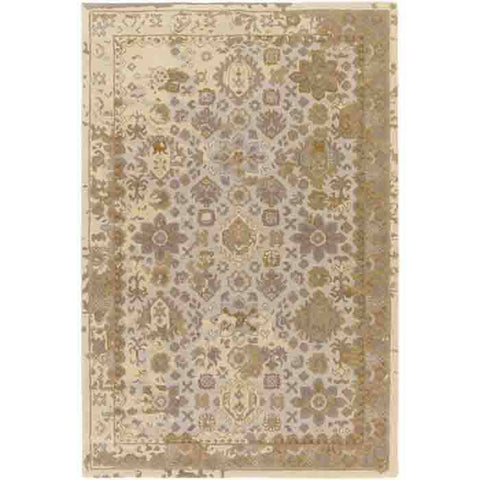 Image of Castello Rug ~ Light Gray/Aqua/Violet/Tan/Camel - Cece & Me - Home and Gifts