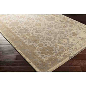 Castello Rug ~ Light Gray/Aqua/Violet/Tan/Camel - Cece & Me - Home and Gifts
