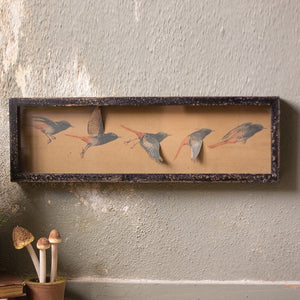 Framed Paper Flying Birds - Cece & Me - Home and Gifts