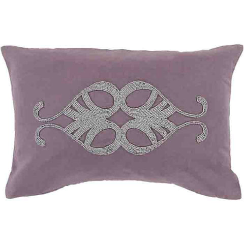 Image of Cairo Pillow ~ Eggplant - Cece & Me - Home and Gifts