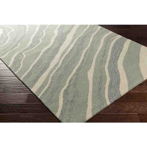 Courtyard Outdoor Rug ~ Light Grey - Cece & Me - Home and Gifts