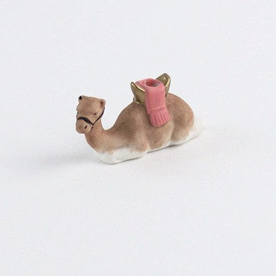 Image of Fun Circus Porcelain Candle Holder - Camel - Cece & Me - Home and Gifts