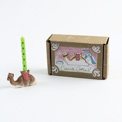 Fun Circus Porcelain Candle Holder - Camel - Cece & Me - Home and Gifts