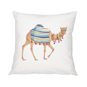 "Camel Throw Pillow 16"" - Cece & Me - Home and Gifts"