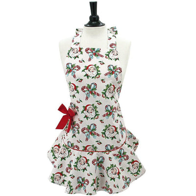 Candy Cane Santas Apron ~ Mommy & Me - Cece & Me - Home and Gifts