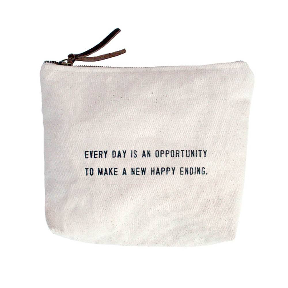 Canvas Bag - Every Day Is An Opportunity - Cece & Me - Home and Gifts