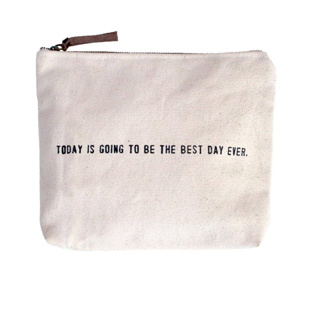 Canvas Bag - Today Is The Best Day Ever - Cece & Me - Home and Gifts